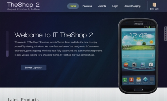 Шаблон IT TheShop 2 для Joomla 2.5/3.0