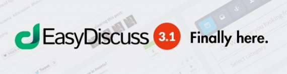 Компонент EasyDiscuss v3.1.8601 для Joomla 2.5/3.0