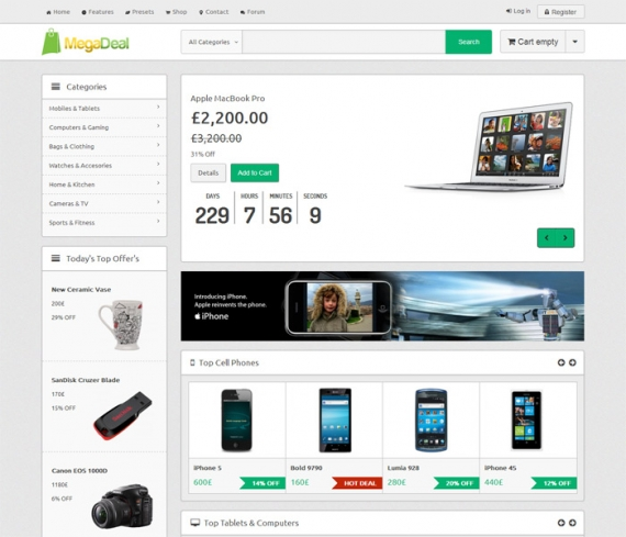 Модуль SP Virtuemart Product Slider для Joomla 2.5
