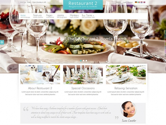 Шаблон IT TheRestaurant 2 для Joomla 2.5/3.0